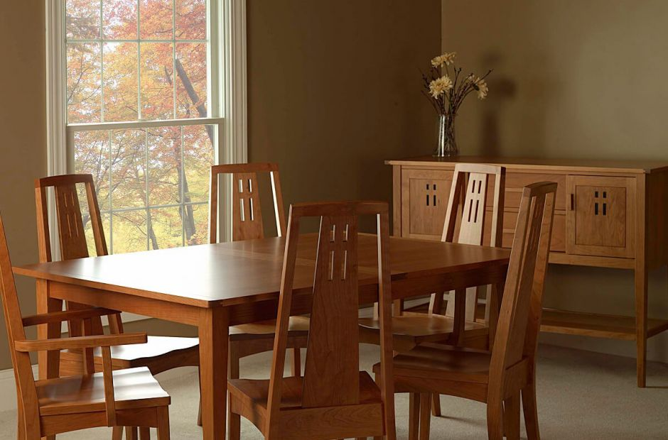 Attirant Eastwood Arts And Crafts Dining Set Image 1