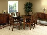Part of the Amish-built Giles Dining Room Set