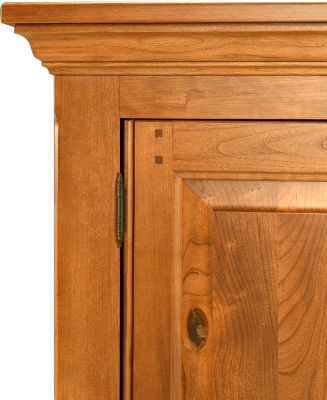 Period perfect solid wood crown moulding
