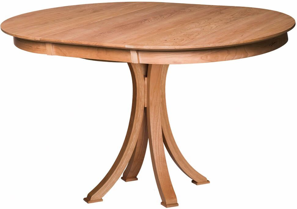 Le Belle Expandable Pub Table shown with one leaf