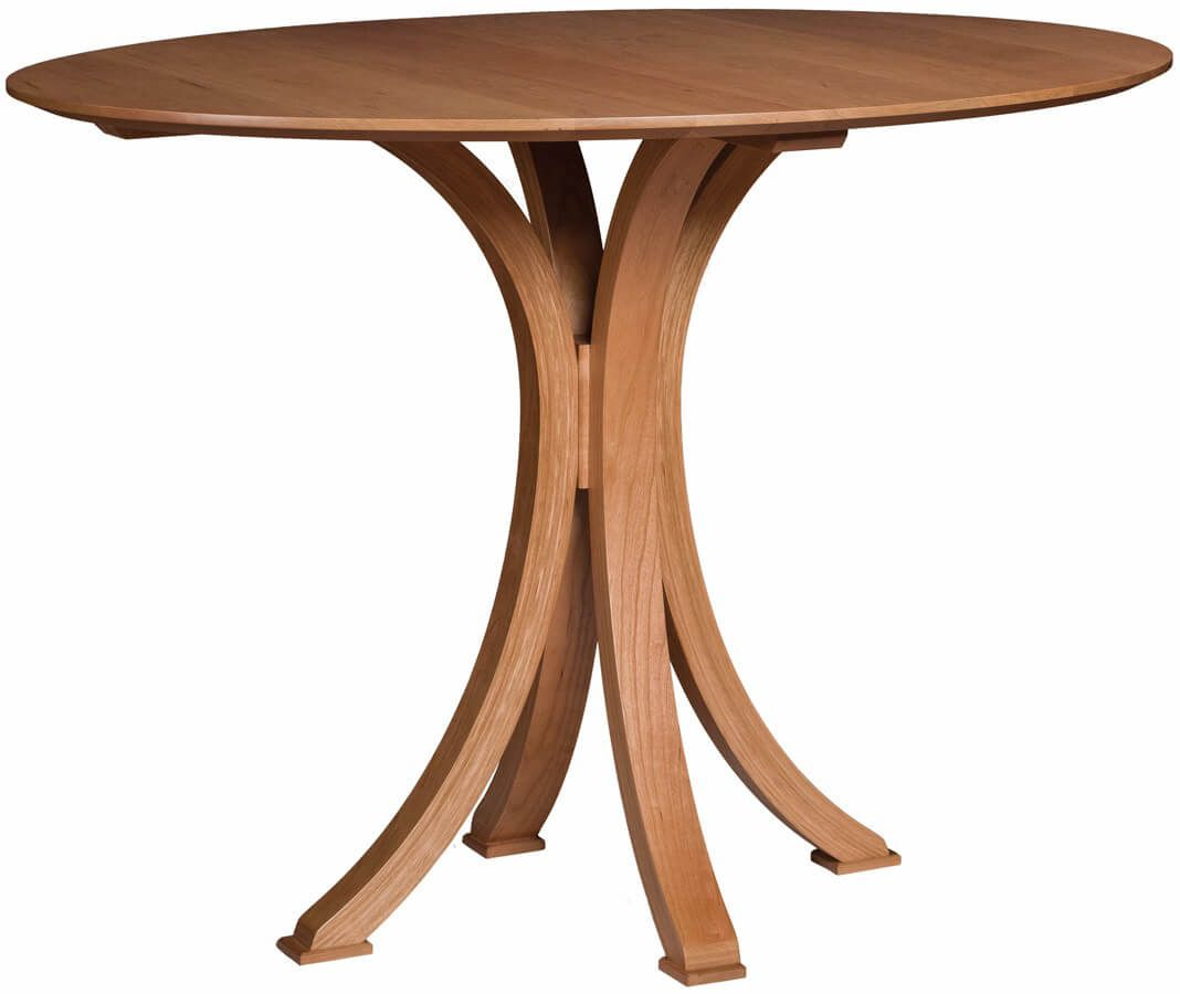 Le Belle Solid Top Pub Table in Cherry