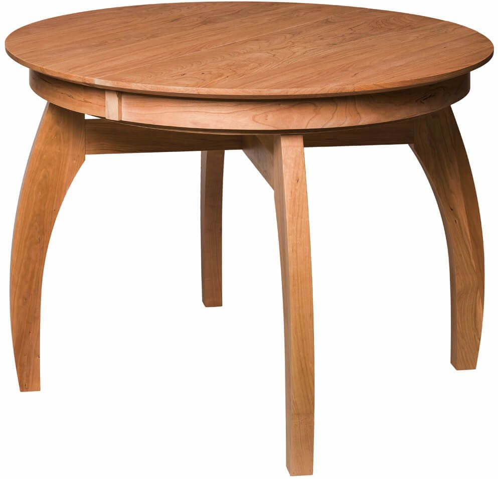 Illinois Modern Two Tone Large Round Dining Table With 8: Marcelle Expandable Kitchen Table