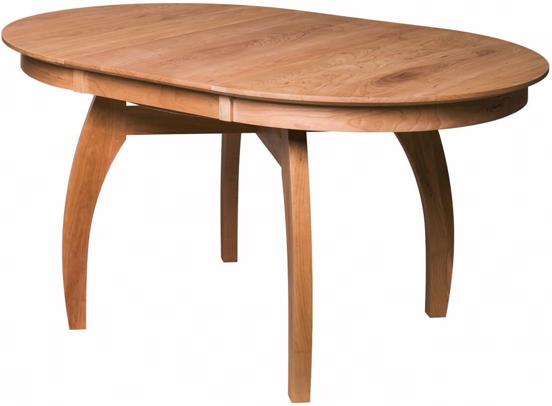 Marcelle Expandable Dining Table with leaf