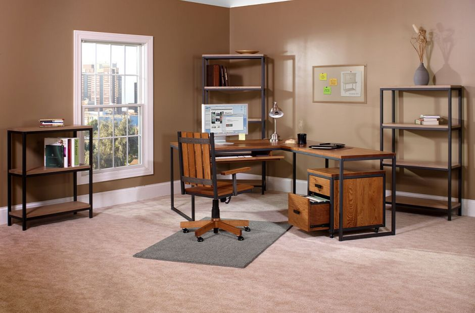 Superb Invest In A Classic And Industrial Approach To Office Furniture.