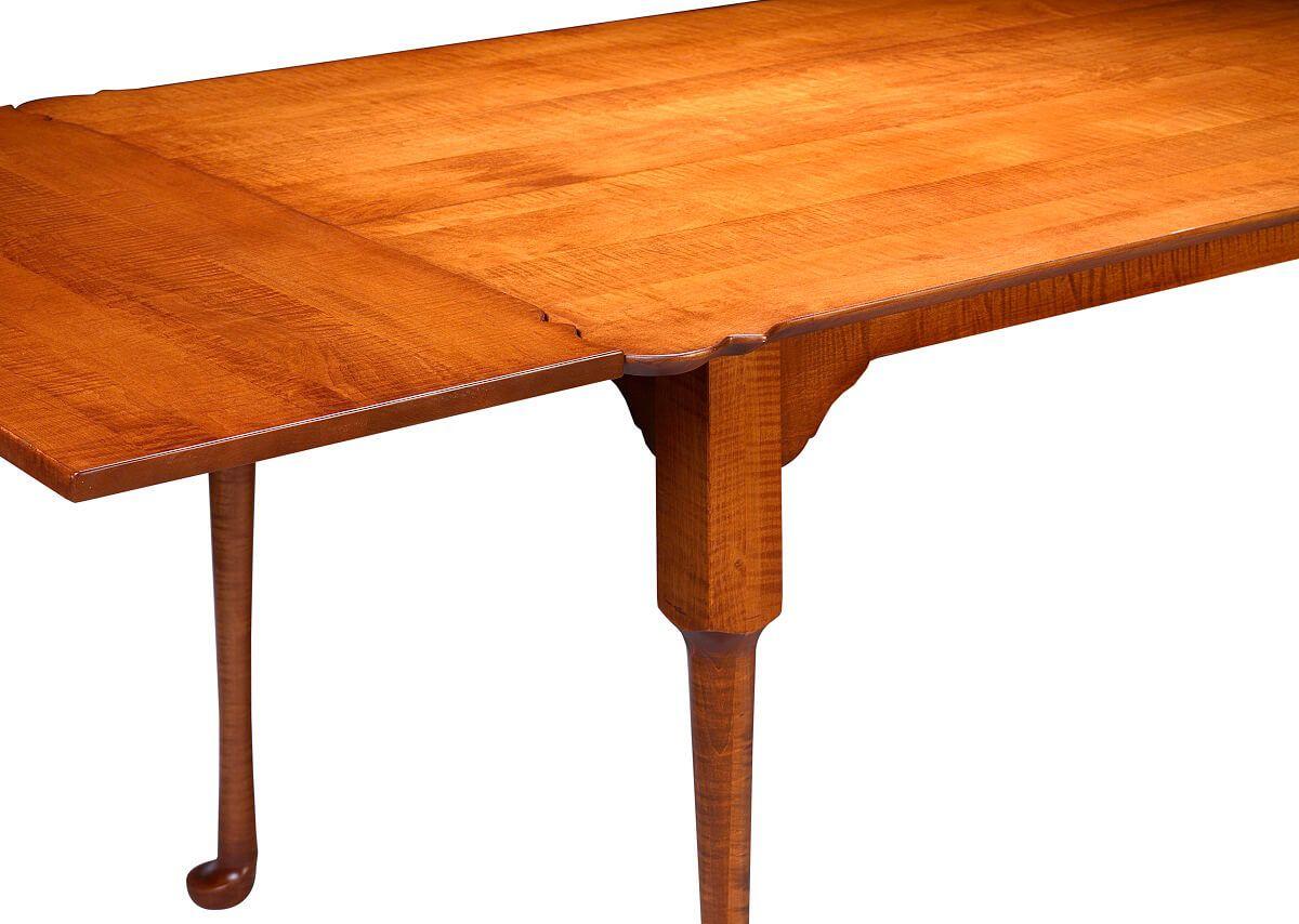 Amish Made Porringer Table