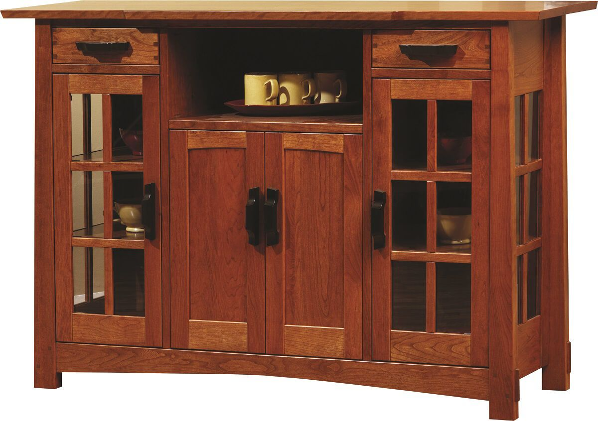 Pueblo Serving Sideboard shown in Cherry