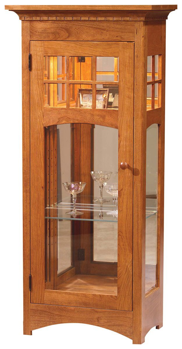 Sonoma Small Curio in Cherry