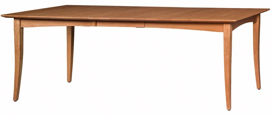 Waterbury Extension Table shown with one leaf