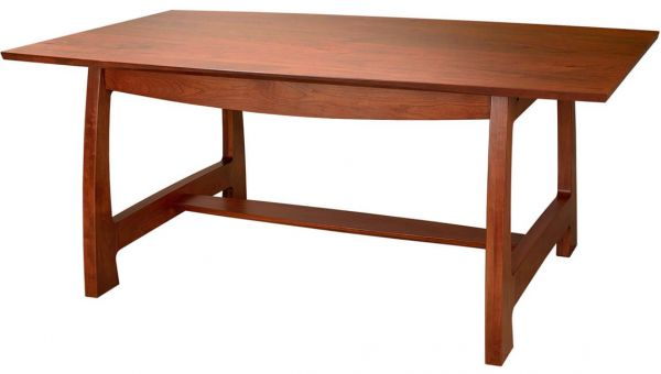 Solid top Watkins Glen Dining Table