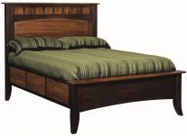 Aragon Panel Bed with Storage