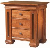 Chain Lakes 3-Drawer Nightstand