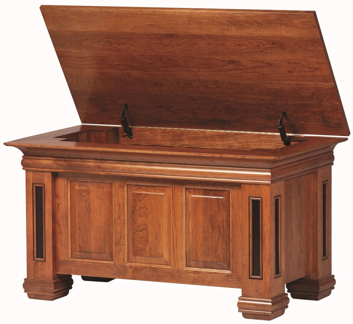 Chain Lakes Blanket Chest Open