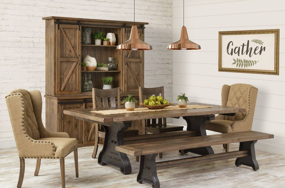 Old Saybrook Farmhouse Dining Set Image 1