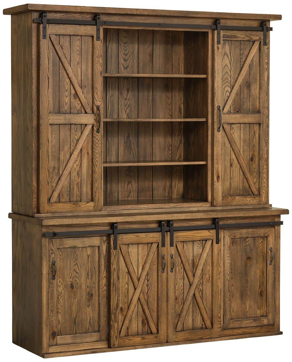 Old Saybrook Farmhouse Hutch Countryside Amish Furniture