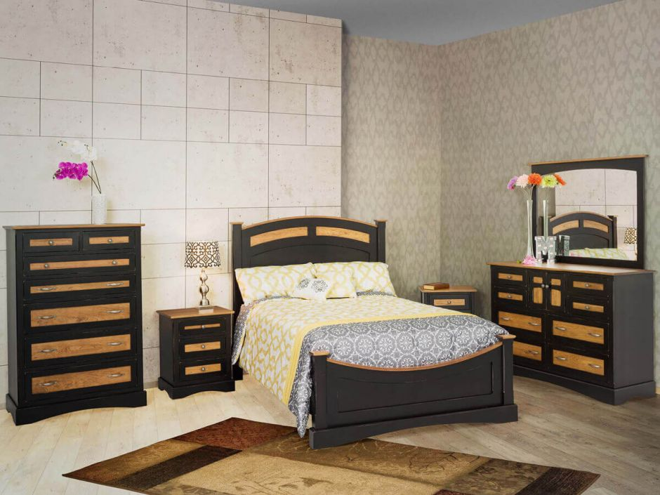 stars hollow bedroom set