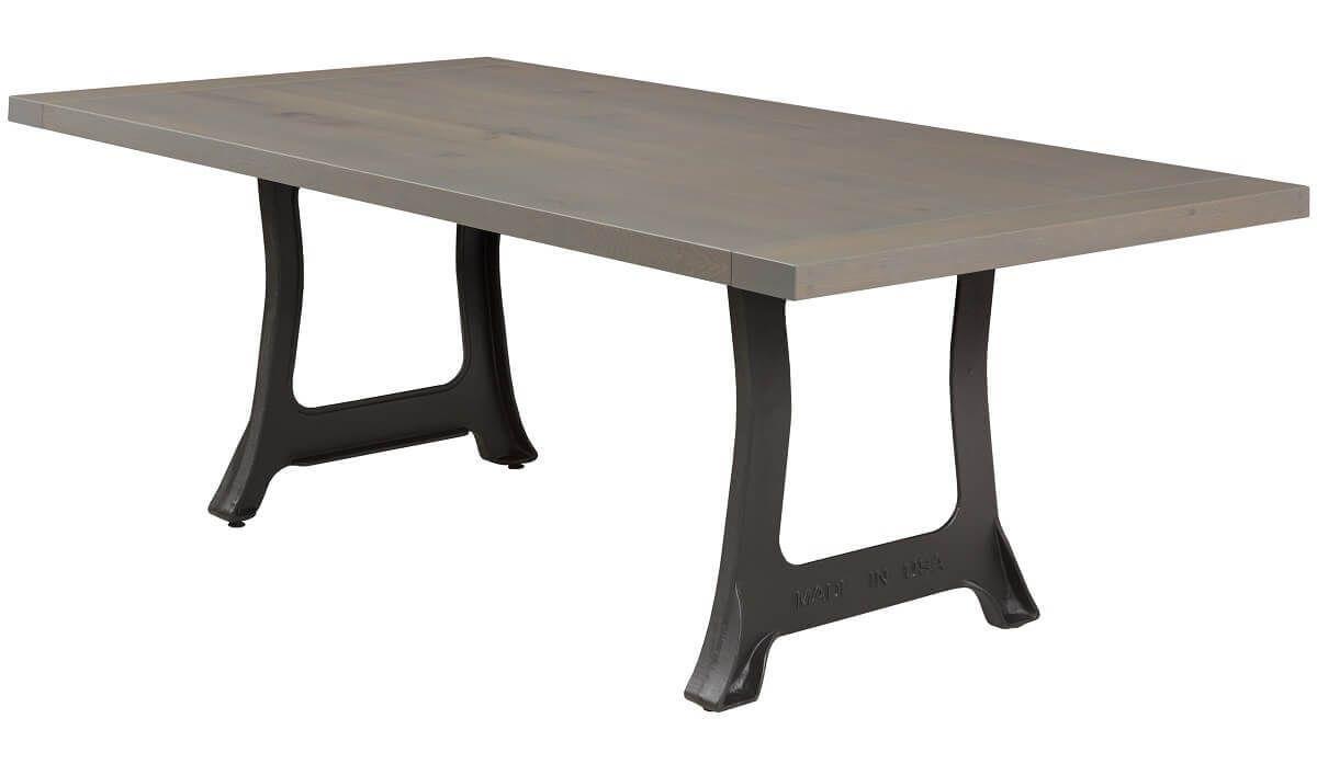 Trumbull Cast Iron Table