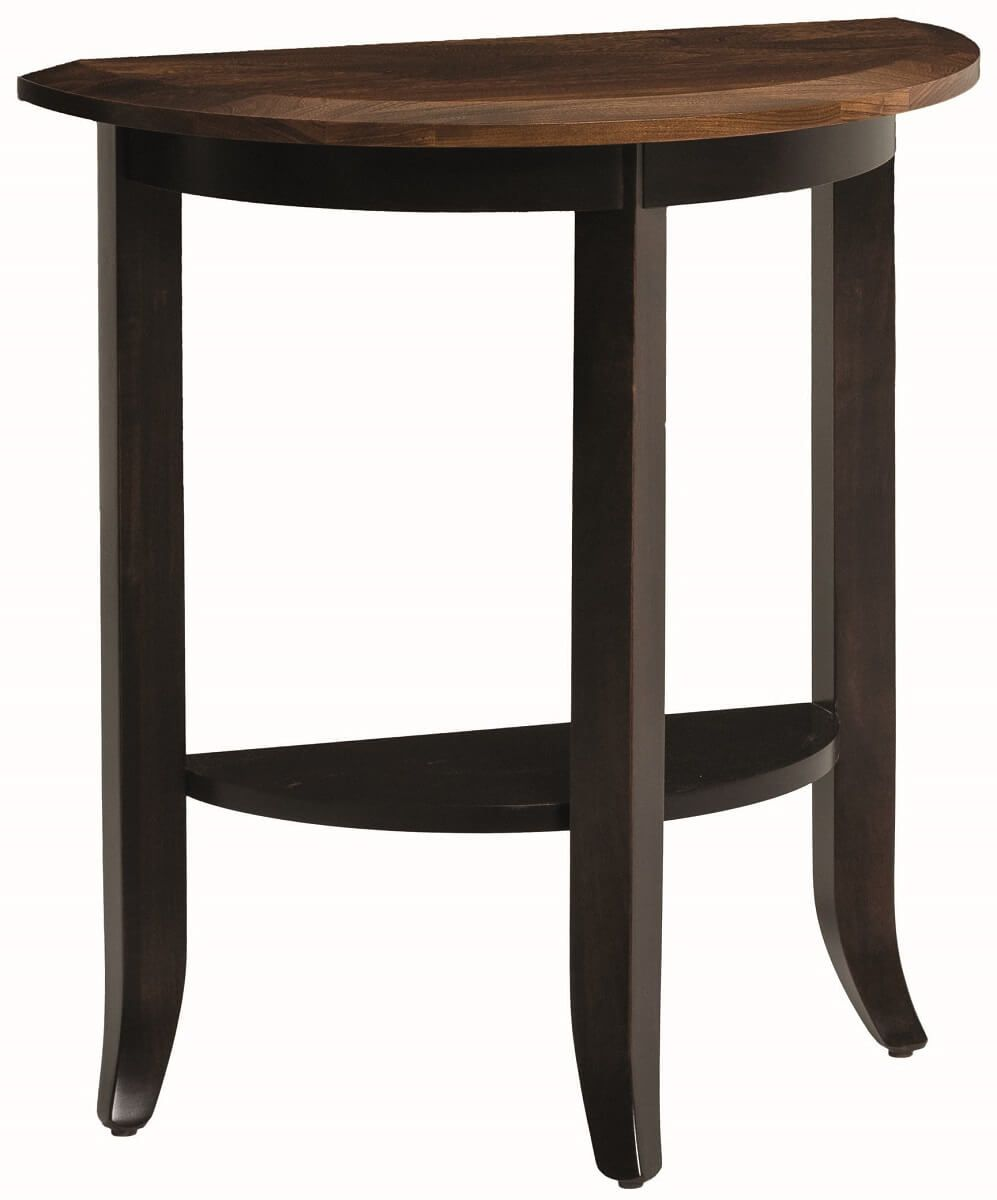 Aragon Half Round Hall Table