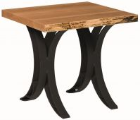 Dominion Reserve Live Edge End Table