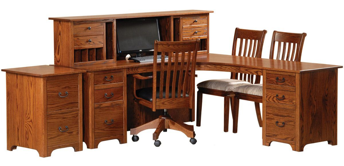 Shown with Atlanta Ridge L-Desk