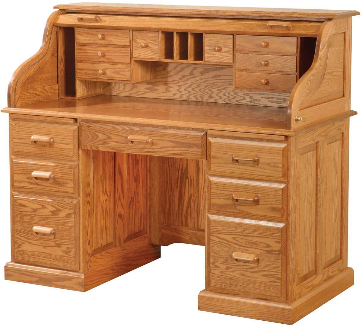 Consultant's Roll Top Desk