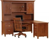 Eagle Rock L-Shaped Hutch Desk