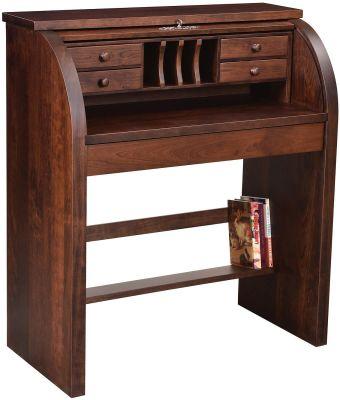 Gardner Handmade Roll Top Desk Countryside Amish Furniture