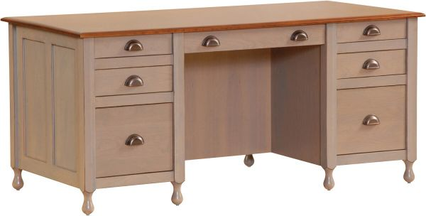 Grafton Bookcase Desk