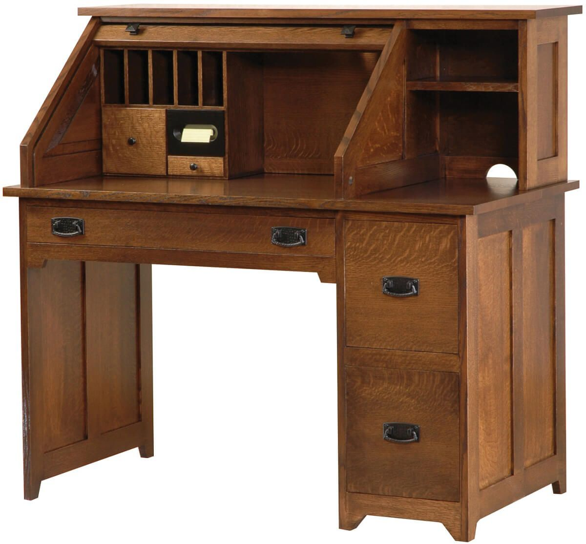 Homesteader's Roll Top Desk