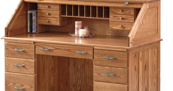 Oak Desk Interior