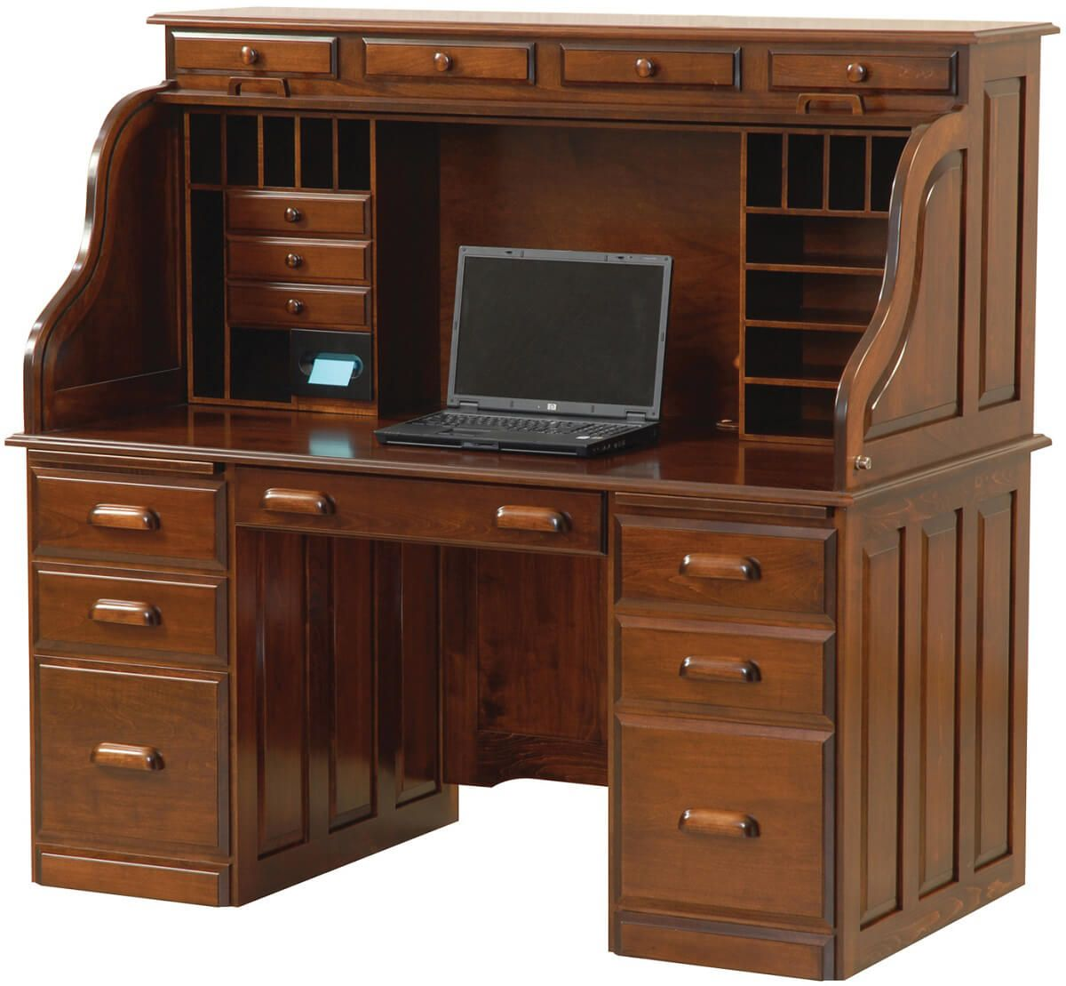 Publisher's Roll Top Desk