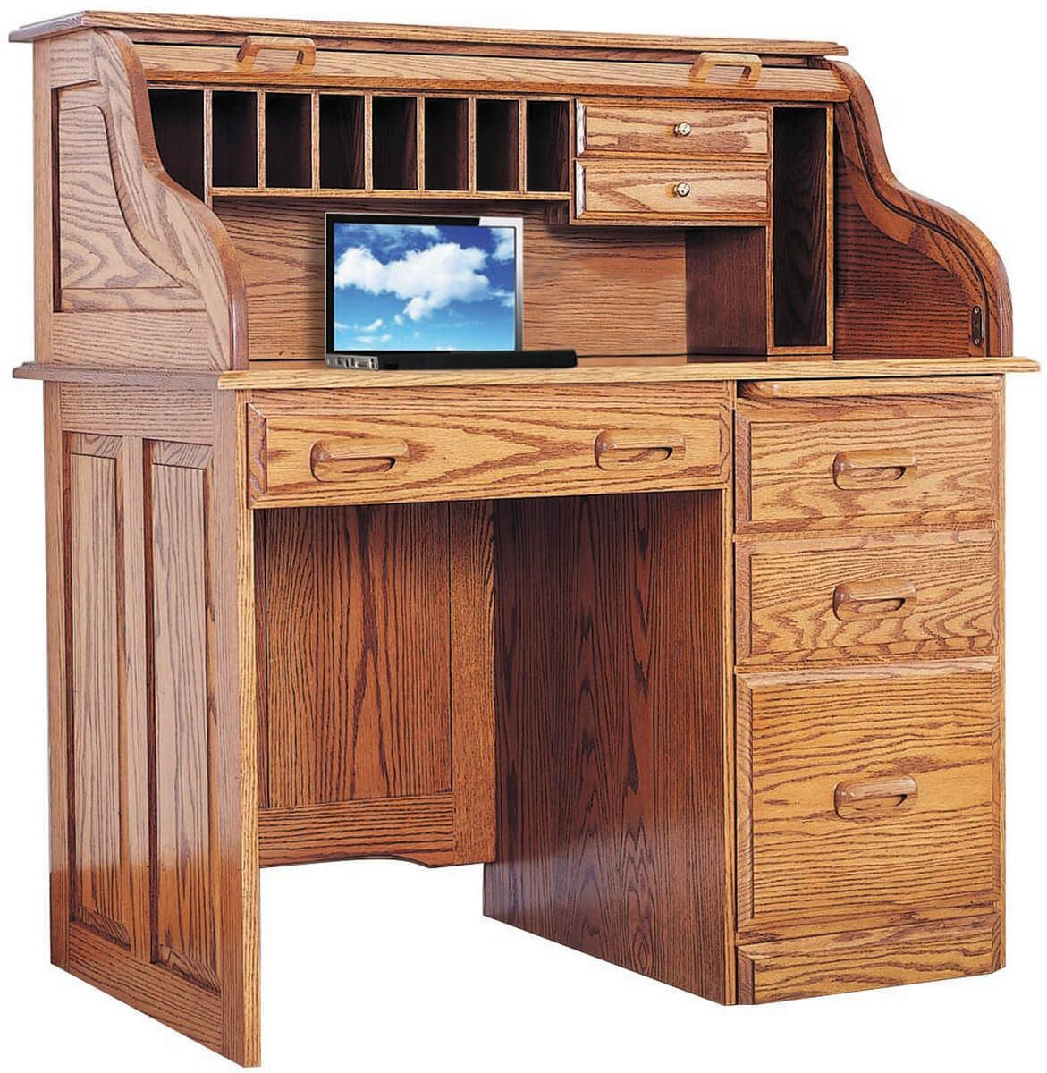 Receptionist's Roll Top Desk