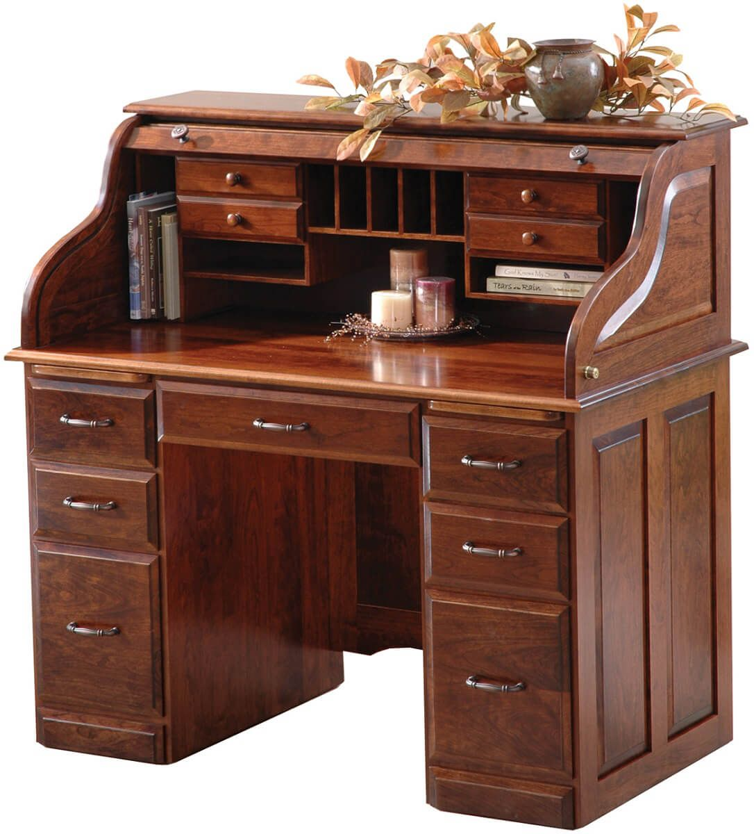 Treasurer's Roll Top Desk