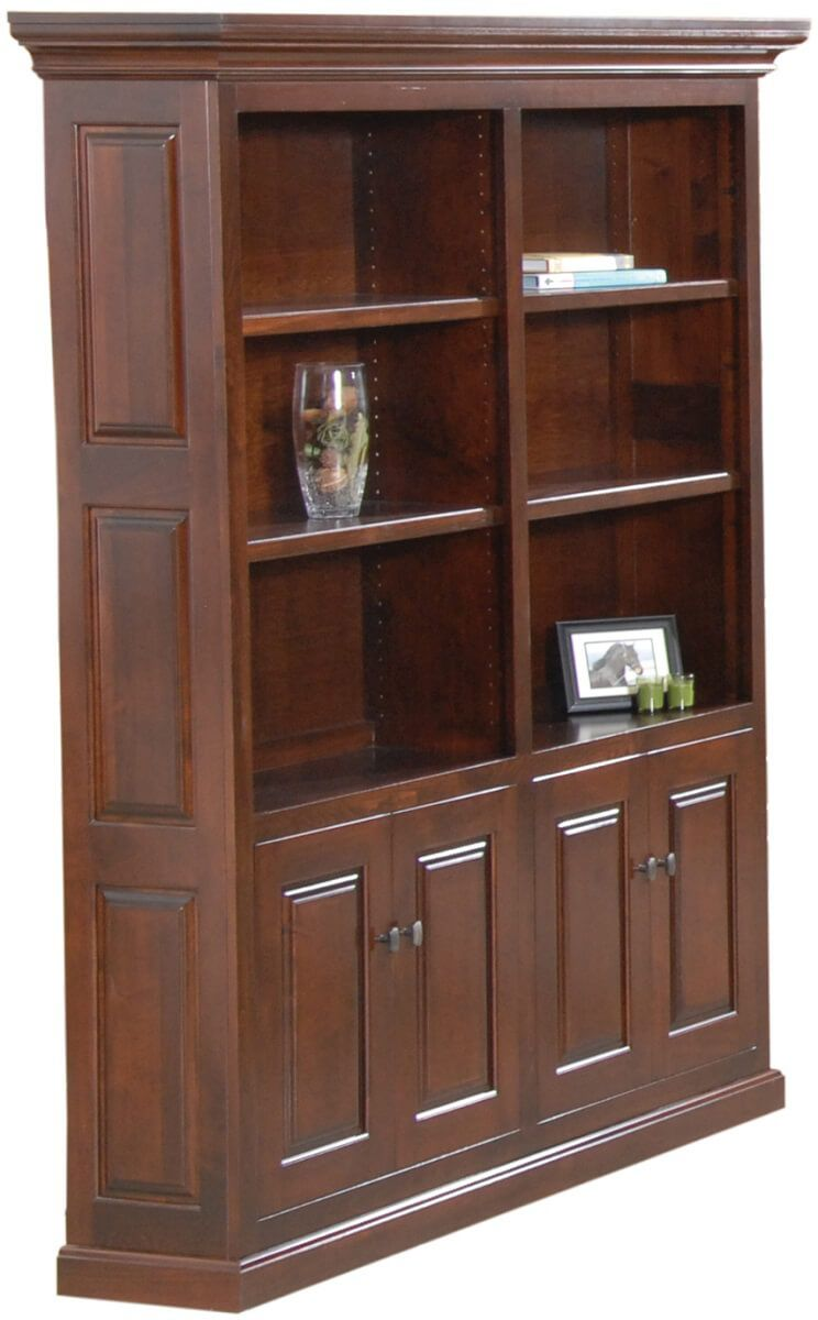 Wallace Double Bookcase