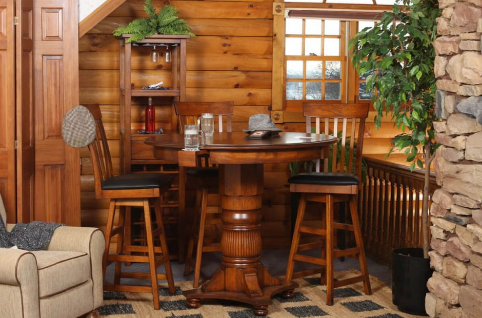 Charmant Anchorage Solid Cherry Pub Set   Countryside Amish Furniture