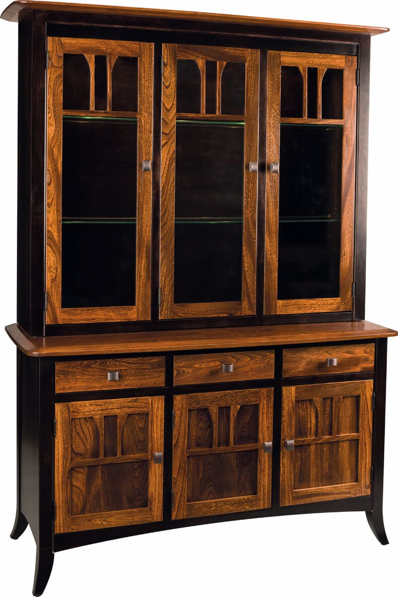 Aragon 3-Door China Hutch