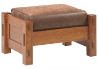 Colonial Cottage Morris Ottoman