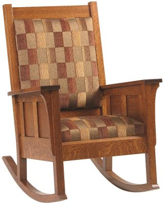 Colonial Cottage Rocker