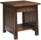 Lake Meade End Table with Drawer