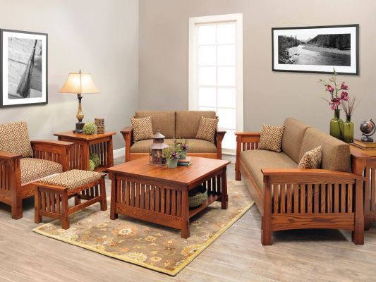 Modern Mission Living Room Furniture