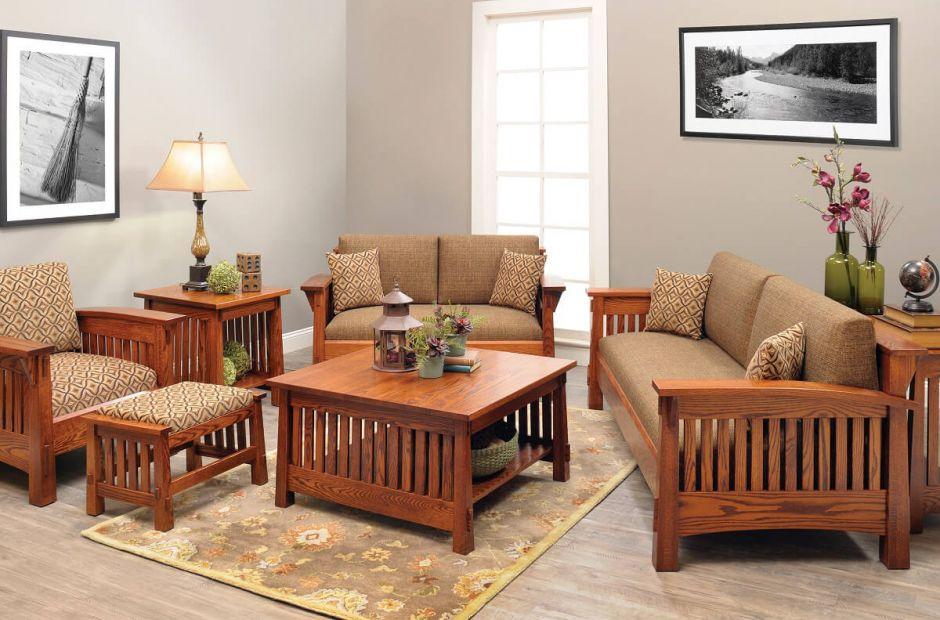 Lake Meade Living Room Set Countryside Amish Furniture