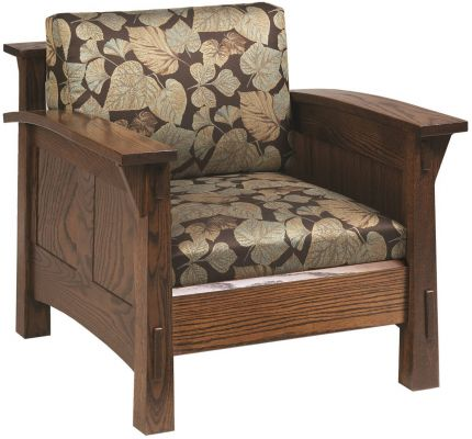 Lake Meade Paneled Chair