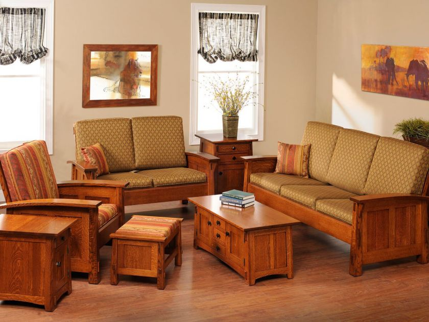 Woodley Road Living Room Set - Countryside Amish Furniture