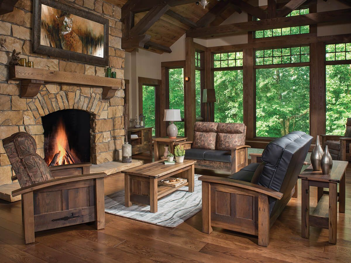 Casselberry Reclaimed Living Room Set