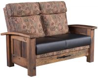 Casselberry Reclaimed Love Seat