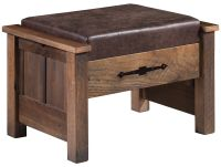 Casselberry Reclaimed Ottoman
