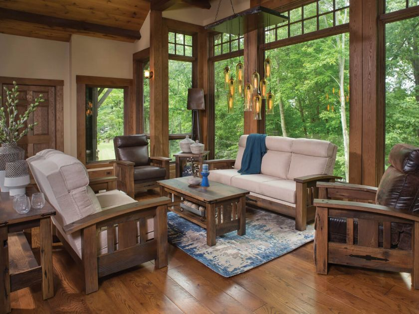 El Dorado Reclaimed Living Room Set Countryside Amish