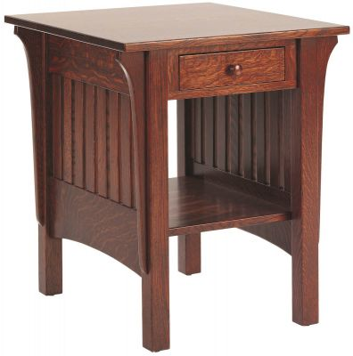 Sandy Creek End Table with Drawer
