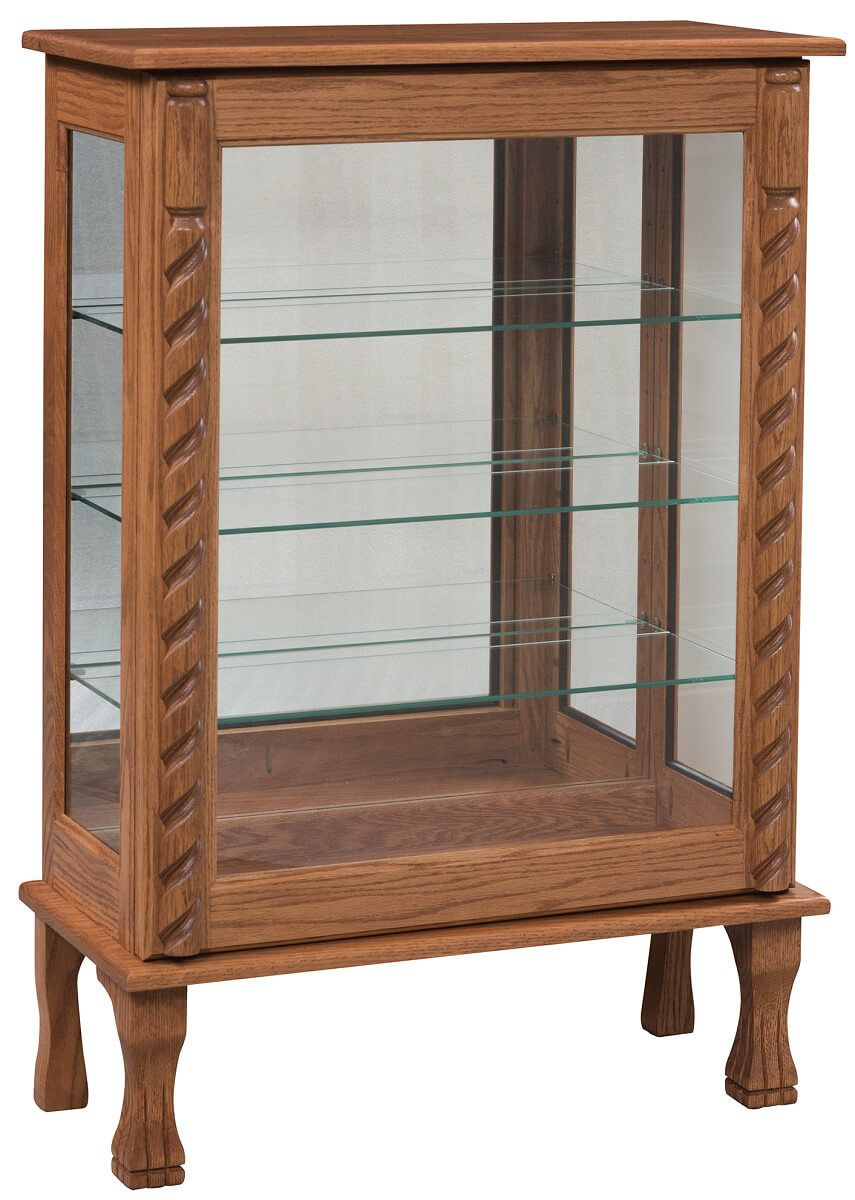 Atherstone Glass Curio Cabinet