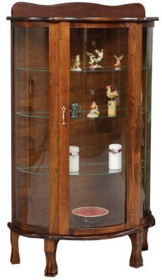 Blue River Wooden Curio Cabinet