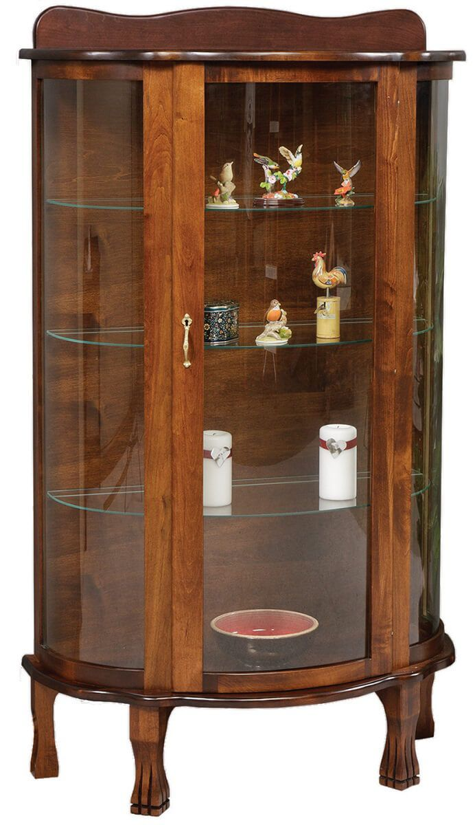 Blue River Amish Curio Cabinet